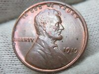 1919 D  LINCOLN WHEAT CENT PENNY AND SHIPS FREE