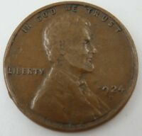 1924-D     LINCOLN WHEAT BACK PENNY   UNGRADED  KEY PENNY
