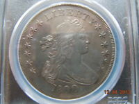 1800 DRAPED BUST DOLLAR, PCGS GRADED EXTRA FINE  DETAILS, BEAUTIFUL COLORING AND DETAIL