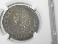 1833 CAPPED BUST HALF DOLLAR NGC EXTRA FINE  40 2631211-017