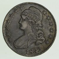 1832 CAPPED BUST HALF DOLLAR - CIRCULATED 9621