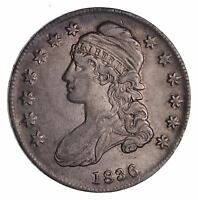 1836 CAPPED BUST HALF DOLLAR - CIRCULATED 1513