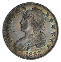 1833 CAPPED BUST HALF DOLLAR - CIRCULATED 1267