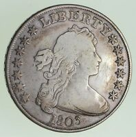 1803 DRAPED BUST SILVER DOLLAR - CIRCULATED 7388