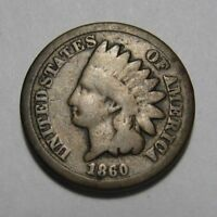 1860 UNITED STATES  INDIAN HEAD CENT   BOLD DATESEE PHOTOS