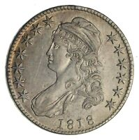 1818 CAPPED BUST HALF DOLLAR - CIRCULATED 1269