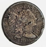 1794 LIBERTY CAP LARGE CENT - CIRCULATED 2439