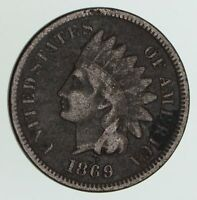 1869 INDIAN HEAD CENT - CIRCULATED 6170