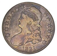 1831 CAPPED BUST HALF DOLLAR - CIRCULATED 7963