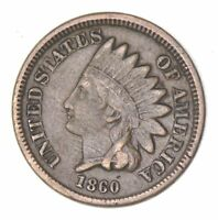 1860 INDIAN HEAD CENT - CIRCULATED 8044
