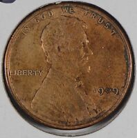 1909 VDB 1C BN LINCOLN CENT ABOUT UNCIRCULATED 174171