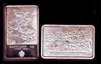 SILVER PLATED BAR : NAPOLEON AND THE FIRST LEGION D'HONNEUR