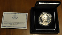 UNITED STATE MINT 2009 ABRAHAM LINCOLN PROOF SILVER DOLLAR W/MINT BOX & COA