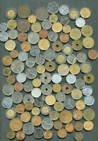 WORLD 100 COINS. DIFFERENT OR TYPES OR YEARS. LOT.