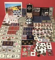 VINTAGE SILVER  COIN COLLECTION & NOTE COLLECTION LOT