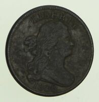 1806 DRAPED BUST HALF CENT - CIRCULATED 8601