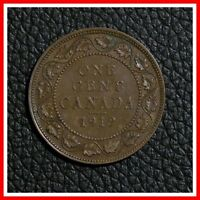 1919 CANADA LARGE ONE CENT   KING GEORGE V