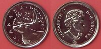 BRILLIANT UNCIRCULATED 2007 CANADA 25 CENTS FROM MINT'S ROLL