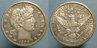 1909 BARBER HALF DOLLAR   NICE & ORIGINAL HIGH GRADE COIN WITH GOOD LUSTER