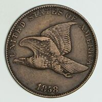 1858 FLYING EAGLE CENT - CIRCULATED 6051