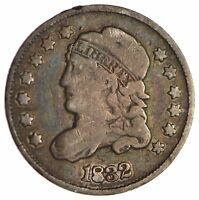 1832 CAPPED BUST HALF DIME - CIRCULATED 1706