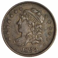 1835 CAPPED BUST HALF DIME - CIRCULATED 1708