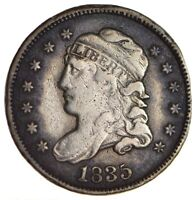 1835 CAPPED BUST HALF DIME - CIRCULATED 1716