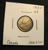 1903 H CANADA 10 CENTS