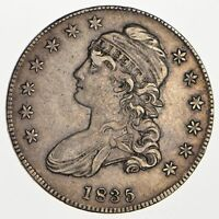 1835 CAPPED BUST HALF DOLLAR - CIRCULATED 0119