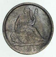 1837 SEATED LIBERTY DIME - CIRCULATED 4745