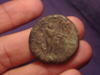 ANCIENT COPPER COIN BACTRIAN 100 BC  2478