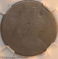 KEY 1803 S264 R4 DRAPED BUST LARGE CENT NCS FAIR LARGE DATE SMALL FRACTION