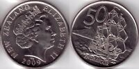2009 NEW ZEALAND 50 CENT COIN