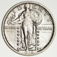 1918-S STANDING LIBERTY QUARTER - CIRCULATED 1646