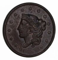 1836 YOUNG HEAD LARGE CENT - CIRCULATED 1488