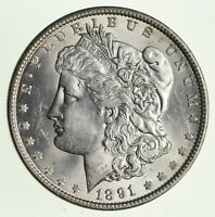 1891 MORGAN SILVER DOLLAR - CIRCULATED 1347
