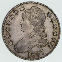 1827 CAPPED BUST HALF DOLLAR - CIRCULATED 3304