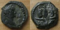 QUALITY TRAJAN DICHALKON FROM THE ALEXANDRIA MINT