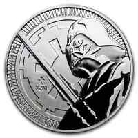2018 NIUE 1 OZ SILVER $2 STAR WARS: DARTH VADER LIGHTSABER BU   SKU170497
