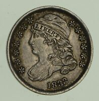 1833 CAPPED BUST DIME - NEAR UNCIRCULATED 4688