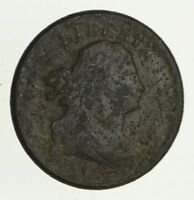 1808 DRAPED BUST HALF CENT - CIRCULATED 2808