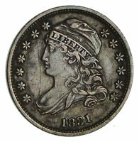 1831 CAPPED BUST DIME - CIRCULATED 1897
