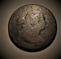 1802 LARGE PENNY  GOOD DETAIL/COLOR
