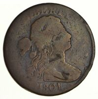 1801 DRAPED BUST LARGE CENT SHELDON S-216 - CIRCULATED 6206