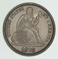 1878 SEATED LIBERTY DIME - PROOF 6055