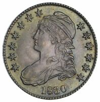1830 CAPPED BUST HALF DOLLAR- NOT CIRCULATED 2910