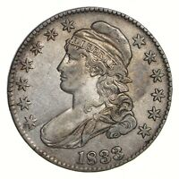 1833 CAPPED BUST HALF DOLLAR - CIRCULATED 2159