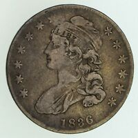 1836 CAPPED BUST HALF DOLLAR - CIRCULATED 5078