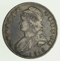 1819 CAPPED BUST HALF DOLLAR - CIRCULATED 4177