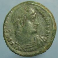 CONSTANTINE THE GREAT GLORIA EXERCITVS AE 3 FROM THE NICOMEDIA MINT
